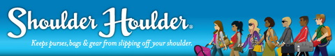 shoulder houlder for your purses and bags, keeps them safe and secure